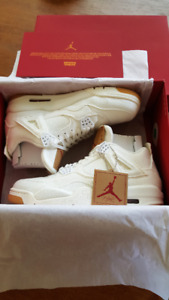 DS Air Jordan 4 Levi's White - Size US 10.5