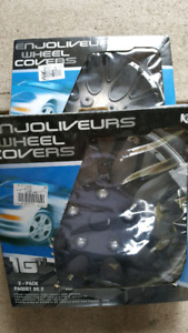 """Set of four 16"""" wheel covers"""