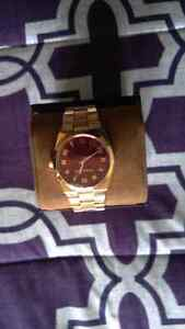 Like new Michael Kors rose gold watch