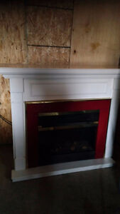 Large Electric Fireplace