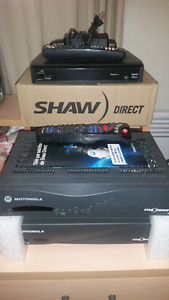 Shaw direct receiver hd