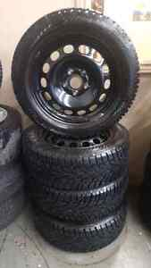 Winter rims and tires for VW. GTI .205 55 R16