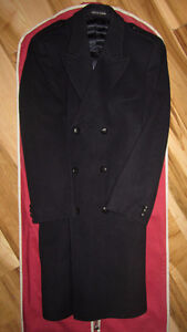 Men's Pure Wool Coat. Made In England