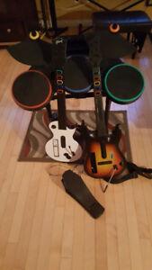 Guitares Hero wii