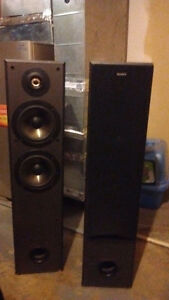 Sony tower speakers and kinetics