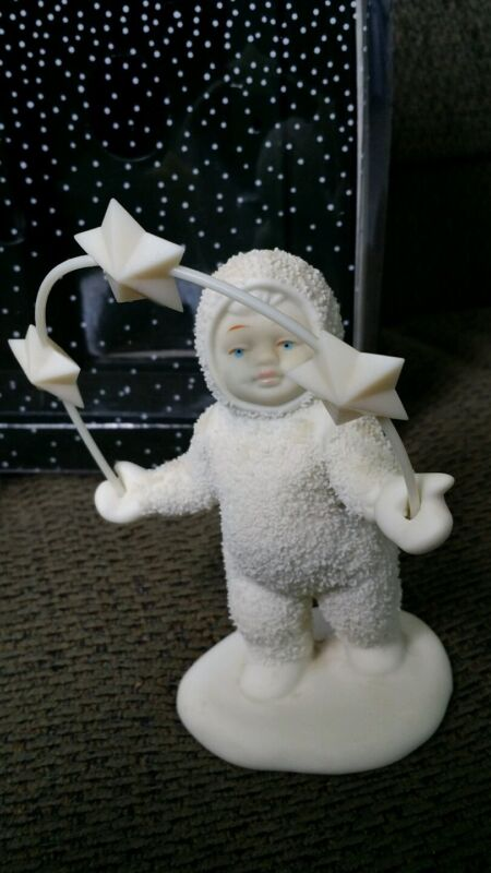 """Snowbabies """"Look What I Can Do"""" Dept 56 Winter Tales"""