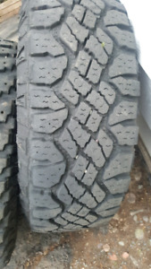 4 - 245 75 16 Goodyear duratrac tires 11/32 tread $495