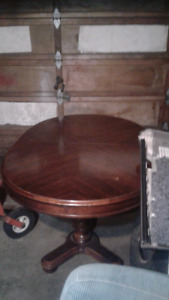 Red Mahogany Dining Table
