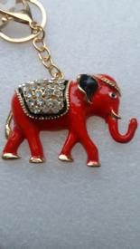 Keys ring holder with elephant ### 4