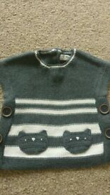 NEXT Knitted Tunic Top 3-6 months