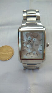 Guess man watch stainless steel