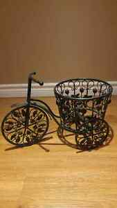 Iron Bicycle Planter