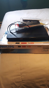 Philips blu ray / DVD/ Netflix streaming device