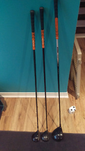 Titleist Driver, 3 & 5 woods