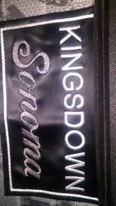 Kingsdown  queen bed set
