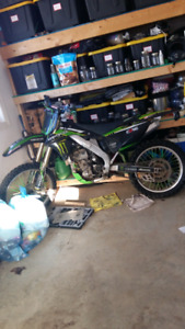 2007 kx250f parts wanted