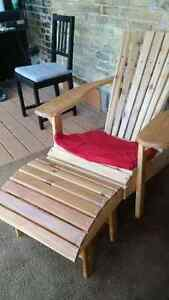 Hand crafted cedar chairs Kitchener / Waterloo Kitchener Area image 2