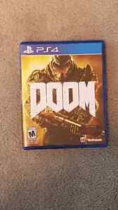 "For sale "" Doom"" ps4"