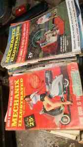 Old Popular Mechanics Magizines Kitchener / Waterloo Kitchener Area image 1