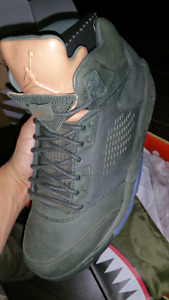 Nike Air Jordan 5 Take Flight Sz 10 DS Premium OVO Atmos Pack