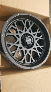 """NEW 20"""" 6X139.7 OR 5X139.7 VISION WHEELS"""