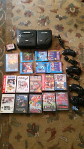 Sega cd video system + bunch of video games lot
