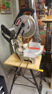 Craftsman 10 inch mitre saw with table