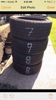 Set of 4 tires size 245/40r19