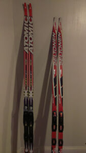 Cross-Country skate and classic skis and boots