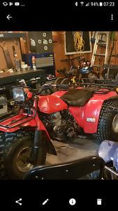 Honda Big red trike