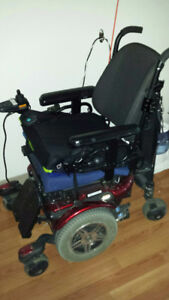 Jazzy 600 Electric Wheelchair