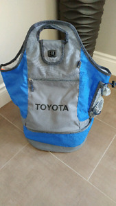 Brand New Toyota insulated lunch bag back pack