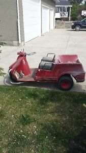 Harley Davidson vintage golf cart