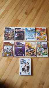 Assorted Wii games.  $10 dollars each or make an offer.