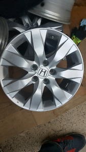 17 inch honda alloy wheels