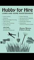 Lawn and Home Maintenence