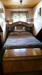 double bedspread set