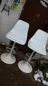 High Back Stools or Chairs Crisp White Strathcona County Edmonton Area image 10
