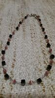 Collier avec perles et hematite  / Hematite and bead necklace