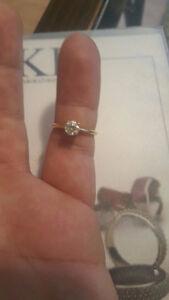 Beautiful 14k yellow gold .51 carat engagement ring