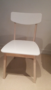 4 -** New Vivien Side Chair - White
