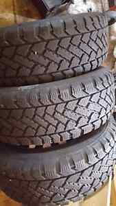 215/60R15 winter tires set of 4 Gatineau Ottawa / Gatineau Area image 1