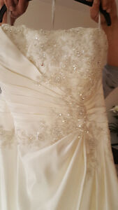 Wedding dress, unaltered size 18\20