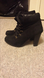 Lechateau boots worn once