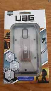 Uag case with screen protector for galaxy note 4