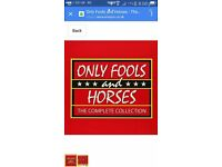 Only Fools and Horses Box set.