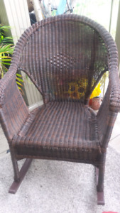 2 Ratana Rocking chairs