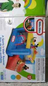 For sale Junior Sports 'n Slide Bouncer House