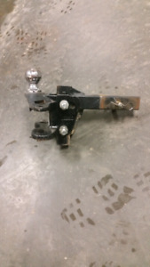 Husky stabilizer hitch