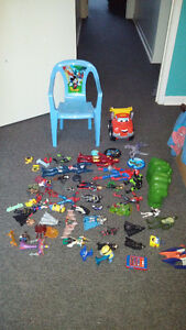 Various Kids Toys-$25 obo- Action Figures,etc